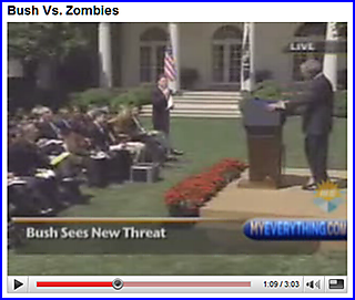 Bush vs zombies