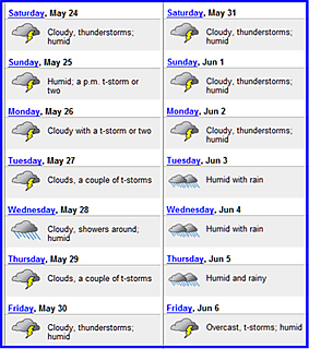 Weather may to june