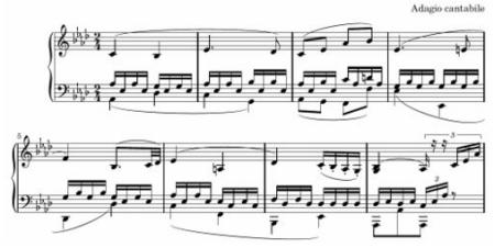 Beethoven sonata 8 adagio