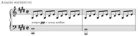 Beethoven sonata 14 adagio sostenuto 2