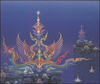 Chalermchai meditating mind detail