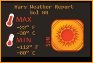 PHOENIX MARS WEATHER