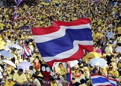 Thailad mass rally