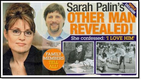 Sarah palin's other man