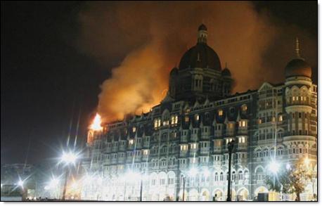 Taj Majal hotel fire