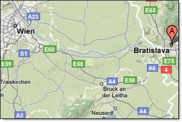 Bratislava -wien