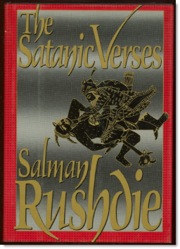 The satanic verses cover