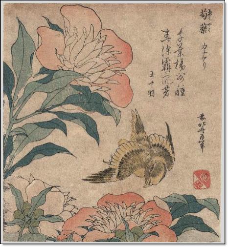 Unesco WDL Hokusai print