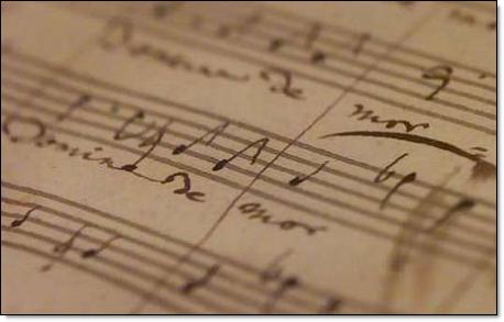 Mozart requiem original score