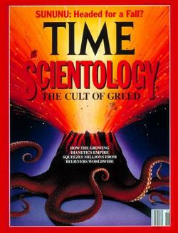Time - scientology cover