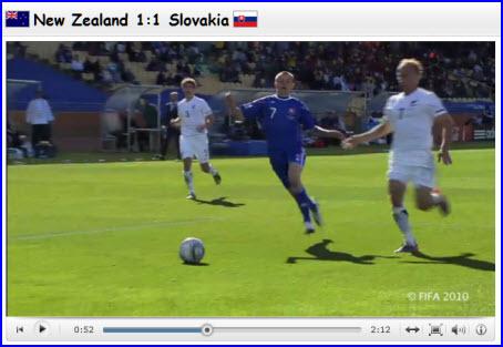 New zealand vs slovakia fifa