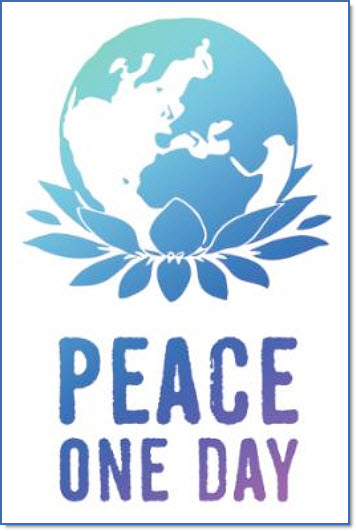 Peace one day poster