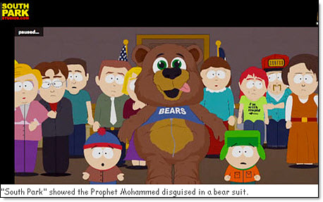 Mohammed as bear