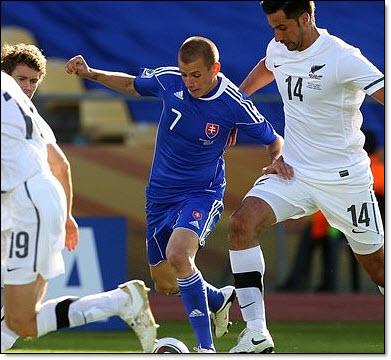 Slovakia world cup - weiss
