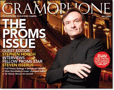 Stephen Hough- Gramophone cover