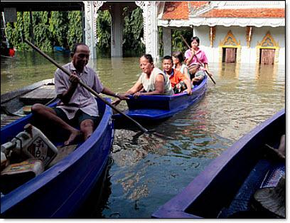 Thai flooding