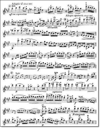 Mozart violin concerto no 5