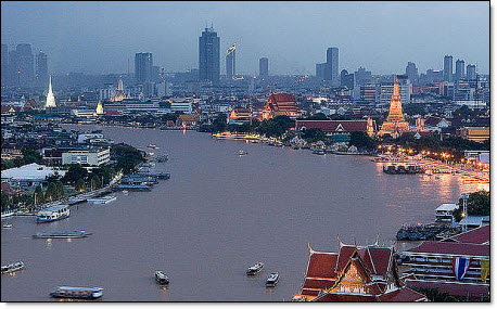 Bankok under water