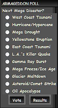 Doomsday - armageddon poll