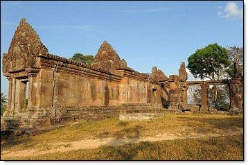 16 cambodian-thai temple