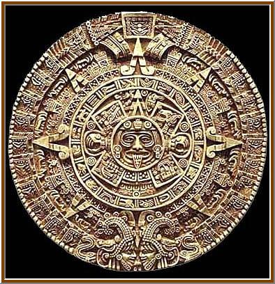 05 Aztec calendar stone 01