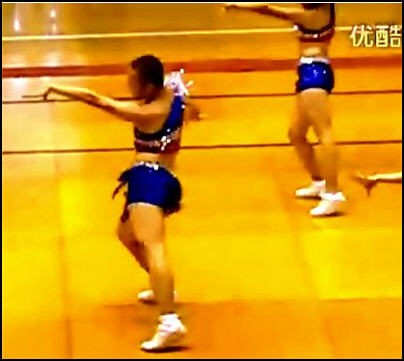 30 chinese male cheerleader