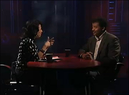 20 Maria Hinojosa with Neil Degrasse Tyson photo