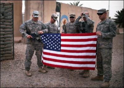 17 Americans Leave Iraq photo