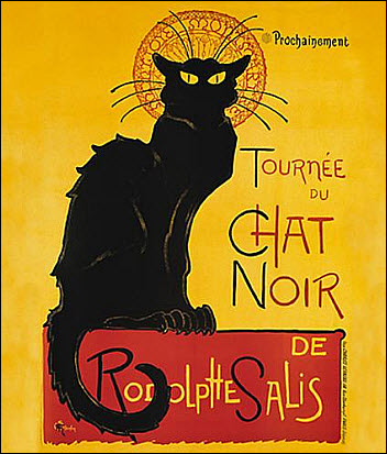 19 The Black Cat poster
