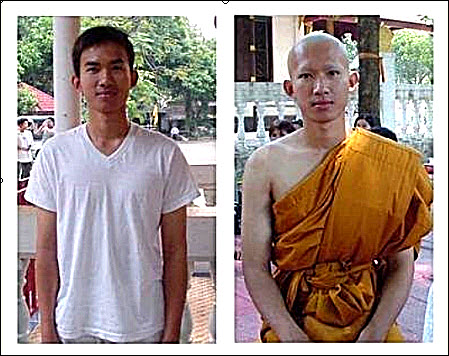14 Becoming A Monk In Thailand photo