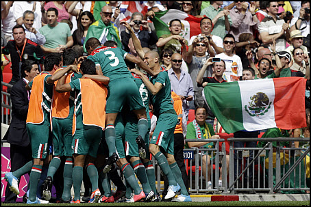12 Olympic Gold in Soccer to Mexico photo 01
