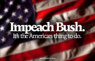 Impeachbushpostertn