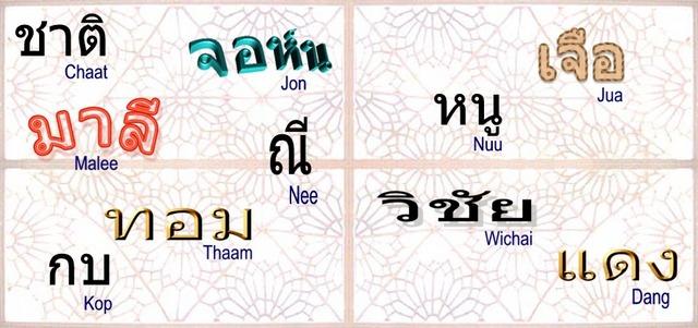 Thai_names